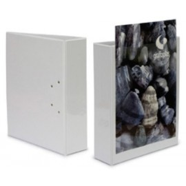 CARPETA CANGURO GRAFOPLAS PVC A4 4 an MIXTAS 40mm BLANCO
