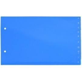 INDICE IBERPLAS PVC ALFABETICO 4 APDO 20 pestañas 2 taladros