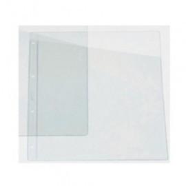 FUNDA para PLANOS IBERPLAS PVC 100 PL NJ A4 CORTE DIAGONAL 4 TAL