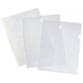 Dossier Angulo Recto Databank Pp 200µ A4 Cristal Paquete De 12