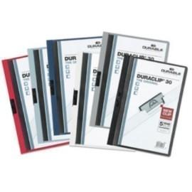 DOSSIER CLIP DURACLIP PVC A4 2200 pinza METAL 30h NEGRO