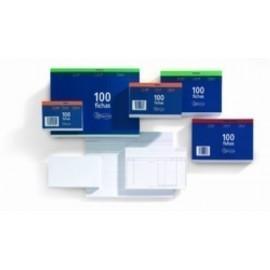 FICHAS MIQUELRIUS LISAS 75x125mm N 2 paquete de 100
