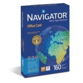 PAPEL A4 NAVIGATOR 160g 250h OFFICE CARD