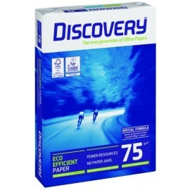 PAPEL A4 DISCOVERY 75g 500h