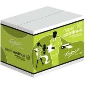 PAPEL CONTINUO BLANCO 6 x240 3 HOJAS 2 CEJAS caja de 2000