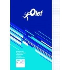 RECAMBIO OLEF A4 100h 90gr 4 TALADROS CUADRIC 4x4
