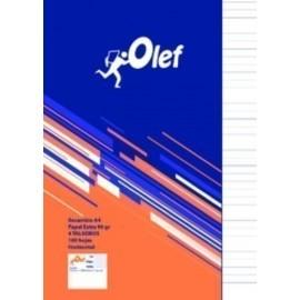 RECAMBIO OLEF A4 100h 90gr 4 TALADROS HORIZONTAL