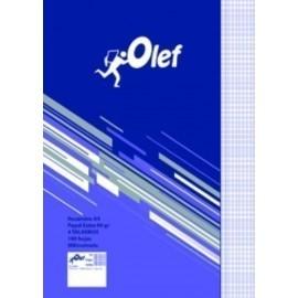 RECAMBIO OLEF A4 100h 90gr 4 TALADROS MILIMETRADO