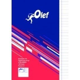 RECAMBIO OLEF A4 100h 90gr 4 TALADROS PAUTA 2 5