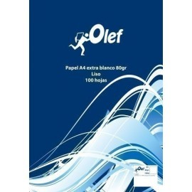 PAPEL A4 OLEF 80g 100h LISO