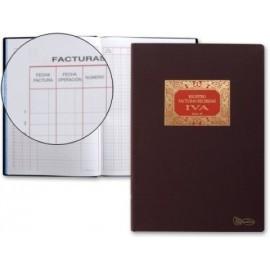 LIBRO CONTABILIDAD F N 65 FACTURAS RECIBIDAS
