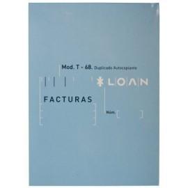 TALONARIO FACTURAS 8 NATU DUPLI LOAN 69D