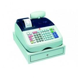 OLIVETTI Caja registradora ECR 6800 alfanumérica térmica/VFD/blanca B9850002