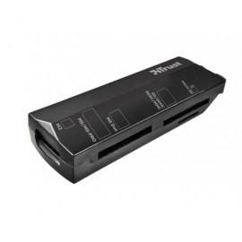TRUST Lector de tarjetas Stello USB 2.0 negro 17682