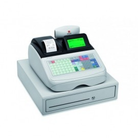 OLIVETTI Caja registradora ECR 8220S alfanumérica térmica/LCD/blanca B4443001
