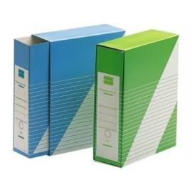 UNISYSTEM Revistero con funda Definiclas Carton 325x260x90mm. Folio Azul 1235.004.01.01