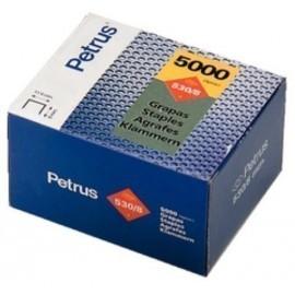 GRAPAS PETRUS CLAVADORA 530 14 mm COBREADAS caja de 5000
