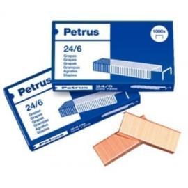 GRAPAS PETRUS 24 23 6 COBREADAS caja de 1000