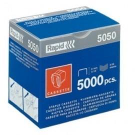 GRAPAS RAPID para ELECTRICA 5050 GALVANIZADAS cassette de 5000