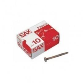 ENCUADERNADOR SAX latonado N 8 40 mm CAJA de 100