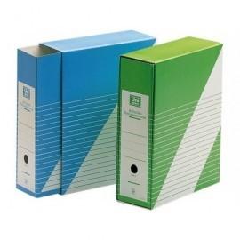 UNISYSTEM Revistero con funda Definiclas Carton 325x260x90mm. Folio Verde 1235.004.02.01