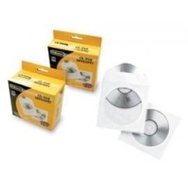 SOBRES FELLOWES para CD DVD 125x125 con VENTANA CAJA de 100