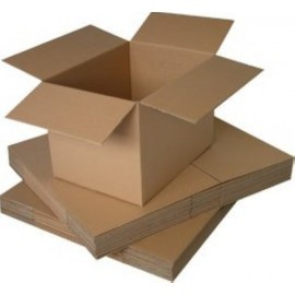 CAJA DE EMBALAR ANONIMA 500x350x350 DOBLE 8 mm MARRON