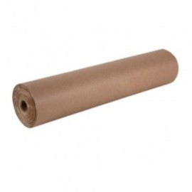 PAPEL de EMBALAR KRAFT BOBINA PRIMERA MARRON 51 KRAFT V 60 gr 110 cm diametro ext 30 60 Kg aprox