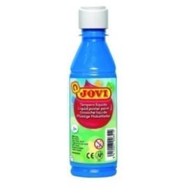 TEMPERA JOVI LIQUIDA 250 ml botella AZUL CYAN