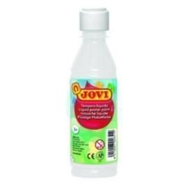 TEMPERA JOVI LIQUIDA 250 ml botella BLANCO