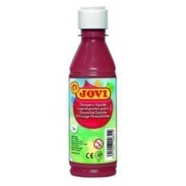 TEMPERA JOVI LIQUIDA 250 ml botella MARRON