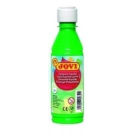 TEMPERA JOVI LIQUIDA 250 ml botella VERDE MEDIO