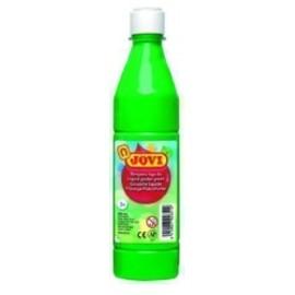 TEMPERA JOVI LIQUIDA 500 ml botella VERDE MEDIO