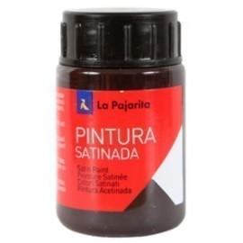 PINTURA LATEX LA PAJARITA 35 ml bote CASTAÑO L 32