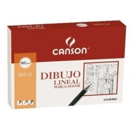 LAMINA GUARRO CANSON DIBUJO MARCA MAYOR 160g A4