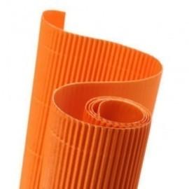 Carton Ondulado Canson 300g Rollo 0,5x0,7 M Naranja Paquete De 10