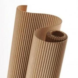 Carton Ondulado Canson 300g Rollo 0,5x0,7 M Natural Paquete De 10