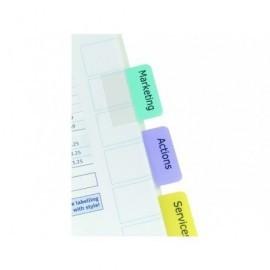 AVERY Pestañas adhesivas Juego 96 ud Colores surtidos Imprimibles 5412501