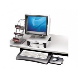 FELLOWES Bandeja Manager para teclado y ratón grafito 93804