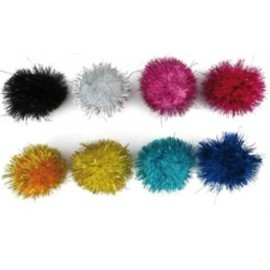 POM POM SMART COLORES BRILLANTES 5 cm SURTIDOS PACK de 52