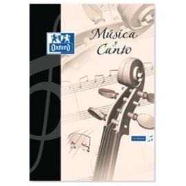 BLOCK DE MUSICA OXFORD A4 24h 12 pent y 12 cd 5x5