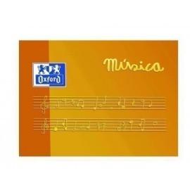 BLOCK DE MUSICA OXFORD A5 10h 5 PENTAG ANCHO APDO