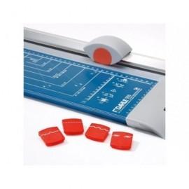 DAHLE Cizallas de rodillo 505 0,8 mm grosor corte A4 Capacidad 8 hojas 475X207X100 1,2 Kg 505-09301