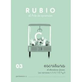 CUADERNO RUBIO A5 ESCRITURA N 03
