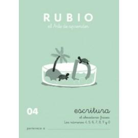 CUADERNO RUBIO A5 ESCRITURA N 04