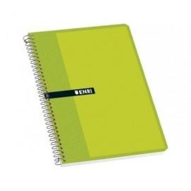 ENRI Cuaderno espiral 80h 8º cuadrícula 4x4 Surtido 100302802