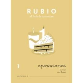 CUADERNO RUBIO A5 OPERACIONES y PROBLEMAS N 1