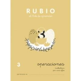 CUADERNO RUBIO A5 OPERACIONES y PROBLEMAS N 3