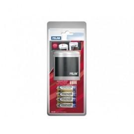 MILAN AfilaLápiz Power Sharp Electrico Simple Colores surtidos 7x6,5 cm BWM10149