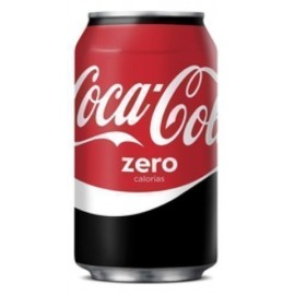 REFRESCO COCA COLA ZERO LATA 330ml